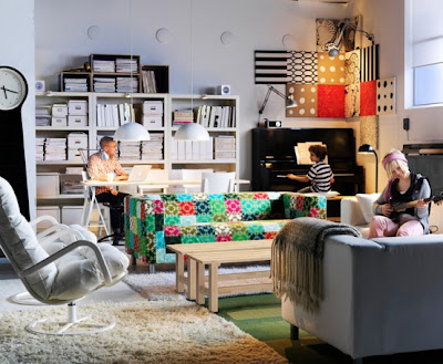 interesting ikea home office living room ideas | IKEA Living Room Design Ideas 2011