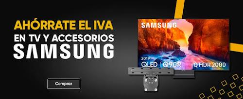 Top 5 ofertas promoción Ahórrate el IVA en TV Samsung de Fnac