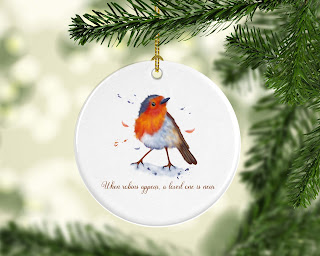 Tree, Robin Redbreast