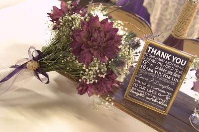 Cartel de boda en inglés