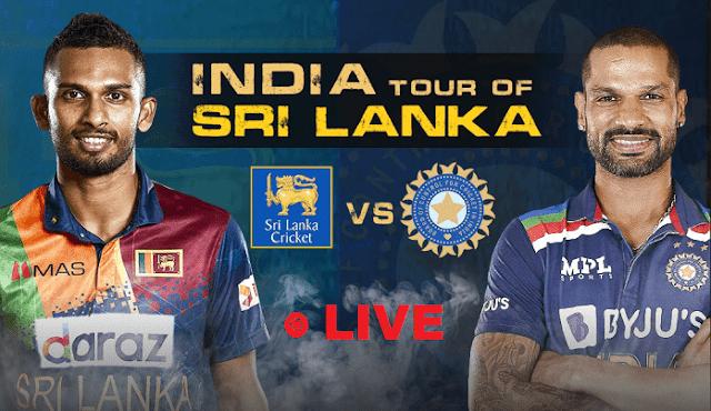 India Vs Shrilanka ODI Live match
