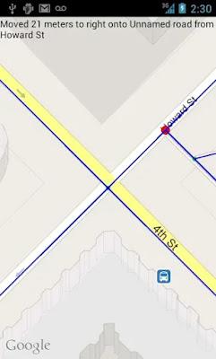 Intersection Explorer interface