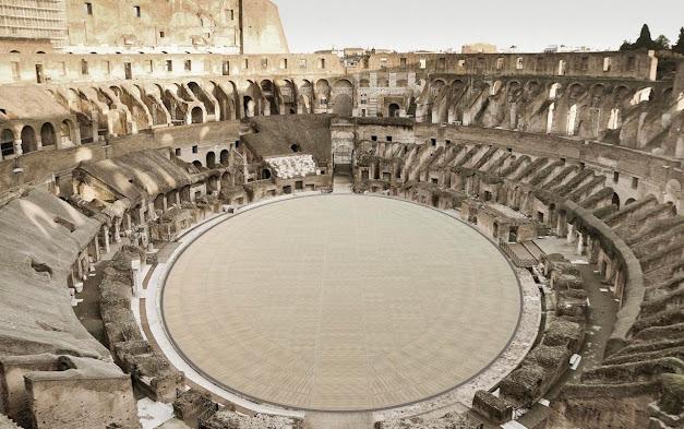 Roma: presentato progetto per la nuova arena al centro del Colosseo (VIDEO)