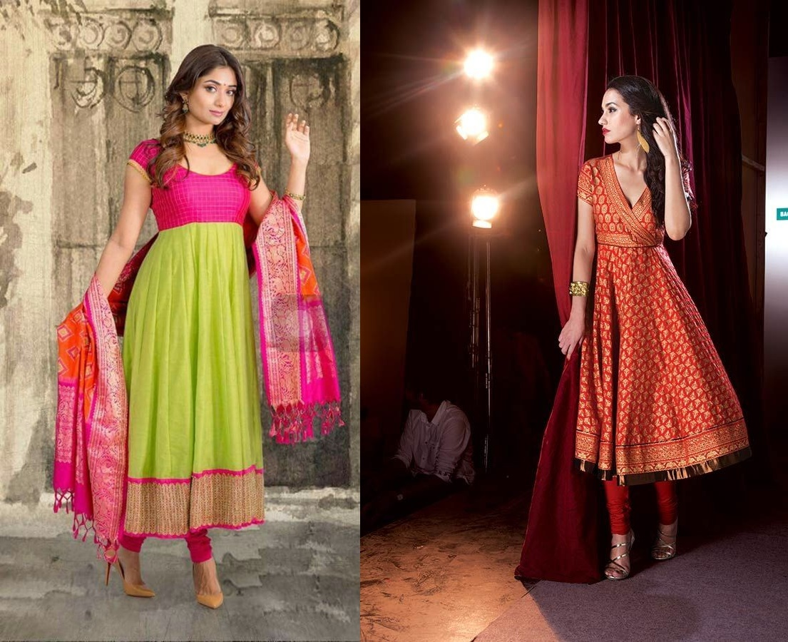 21 Kurti From Old Saree Designs Saree Reuse Ideas Bling Sparkle