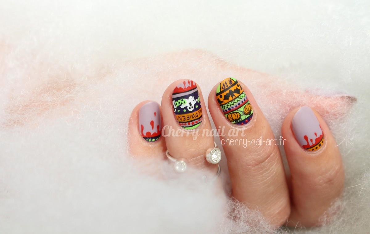 nail-art-halloween-citrouille-fantome-chauve-souris