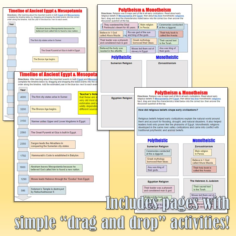 interactive notebook directions