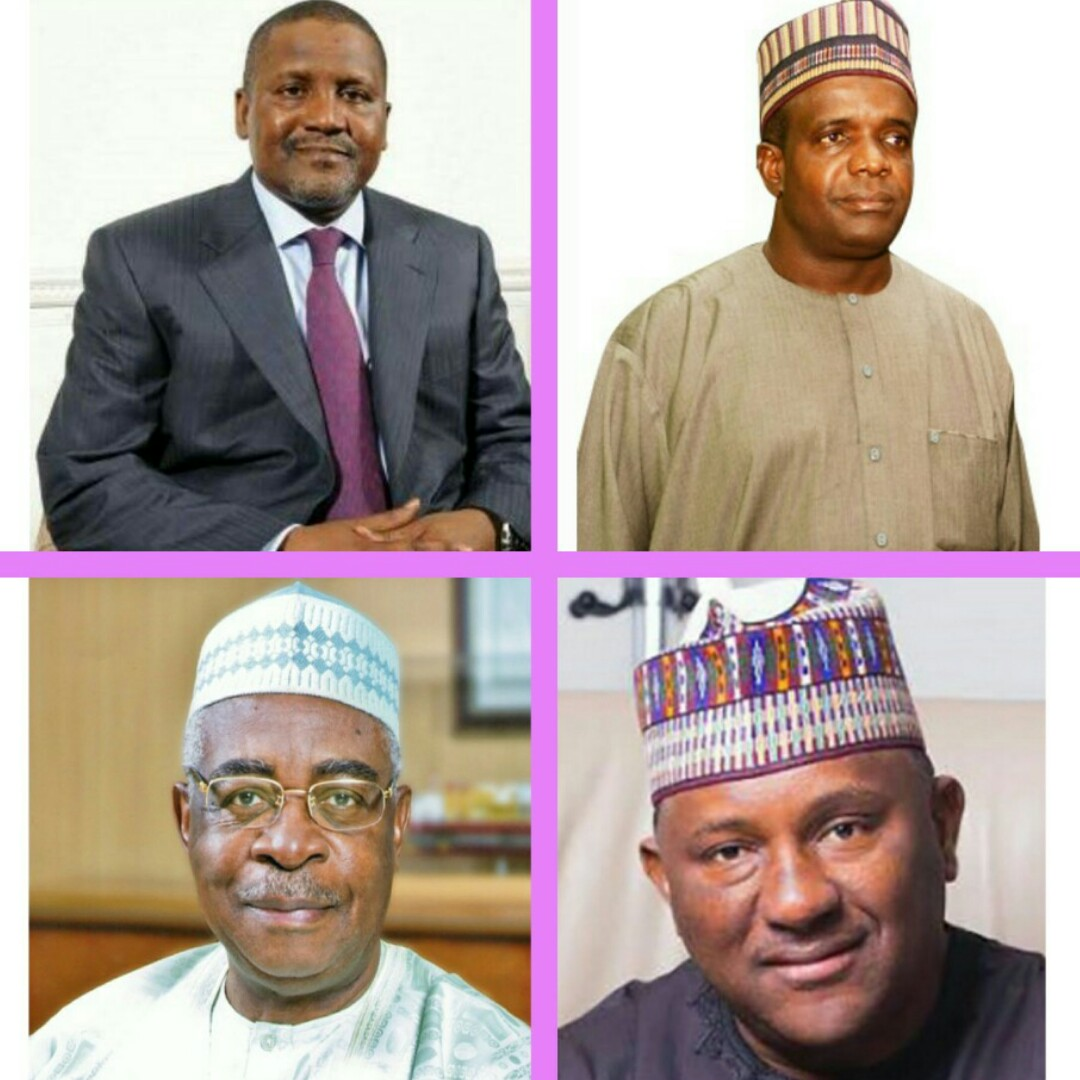 The Differences Are Clear: Net worth of Aliko Dangote, A.A. Rano, BUA and Danjuma in 2021