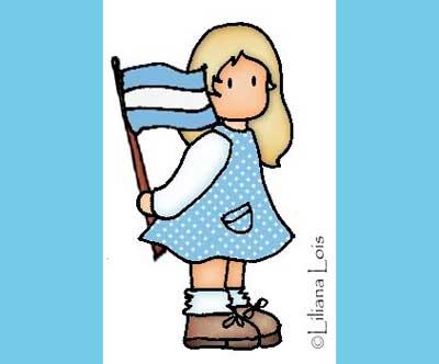 Mi sala amarilla d a de la bandera argentina proyectos e for Canciones de jardin de infantes argentina