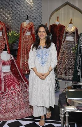 Anita Dongre showcasing collection at The Vogue Wedding Show 2019