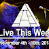 Live This Week: November 4th - 10th, 2018