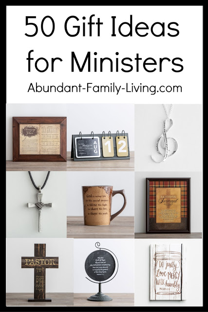 https://www.abundant-family-living.com/2018/10/50-gifts-ideas-for-ministers.html#.W8ubS_ZRfIU