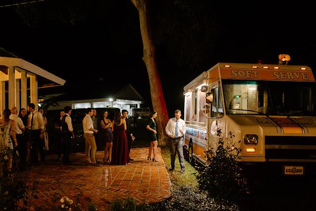 reception ice cream truck
