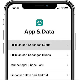 App & Data Iphone