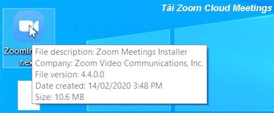 Hướng dẫn cài đặt Zoom Cloud Meetings trên máy tính đơn giản  a