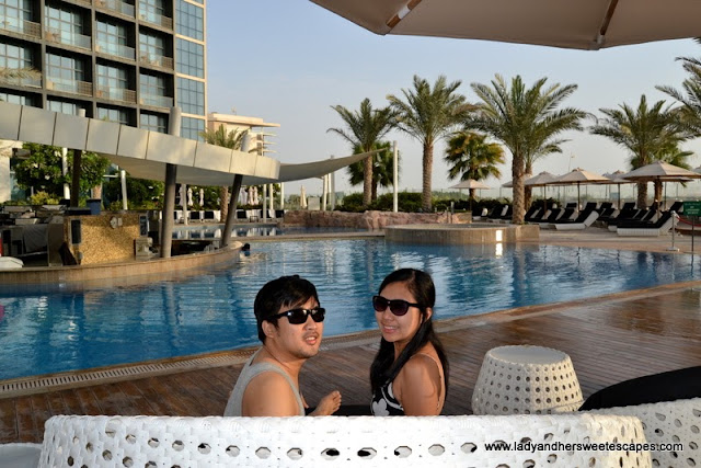 Lady and Ed at Yas Island Rotana