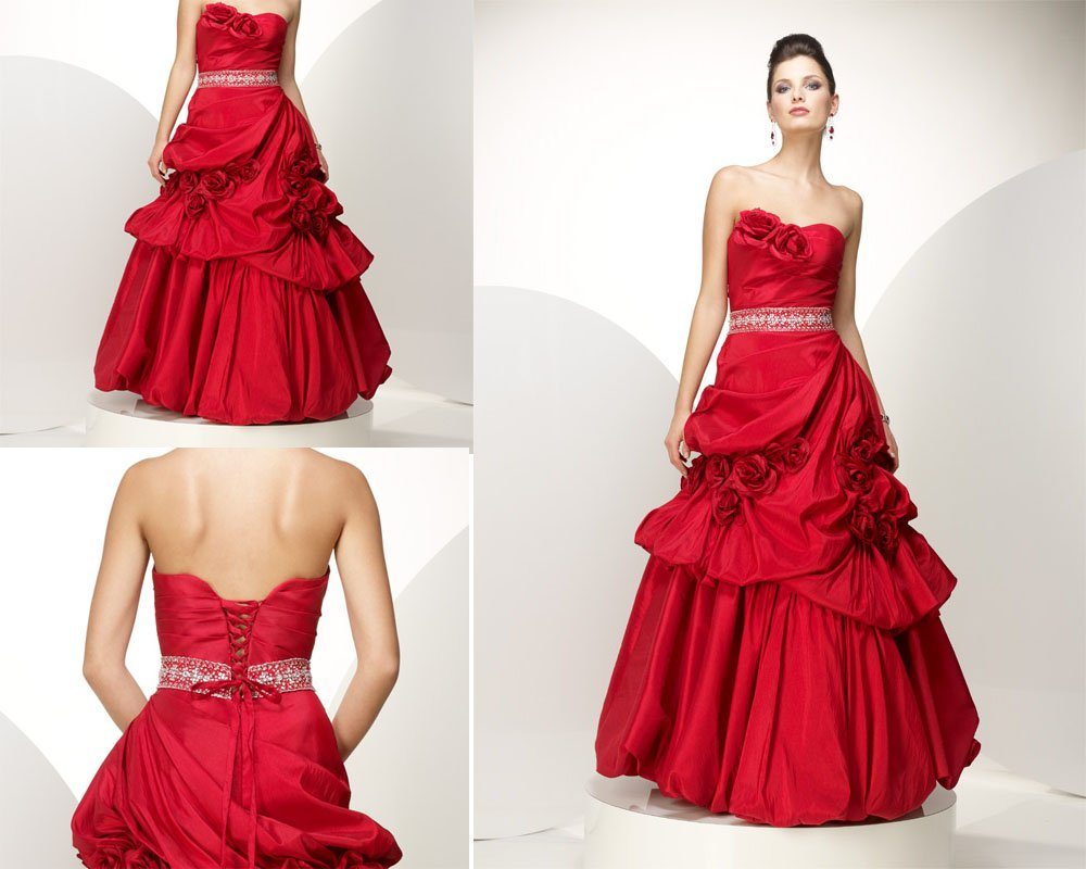Bridal Style And Wedding Ideas: Red Wedding Dresses