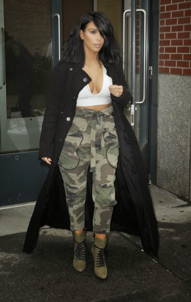 The Style Caf 233 Kim Kardashian S Look Nice Or Nahh