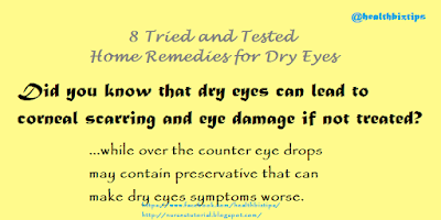 8 Tried and Tested Home Remedies for Dry Eyes
