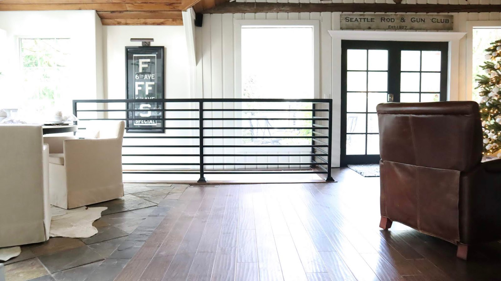 Modern Farmhouse Stairs Gallery | Designed Stairs