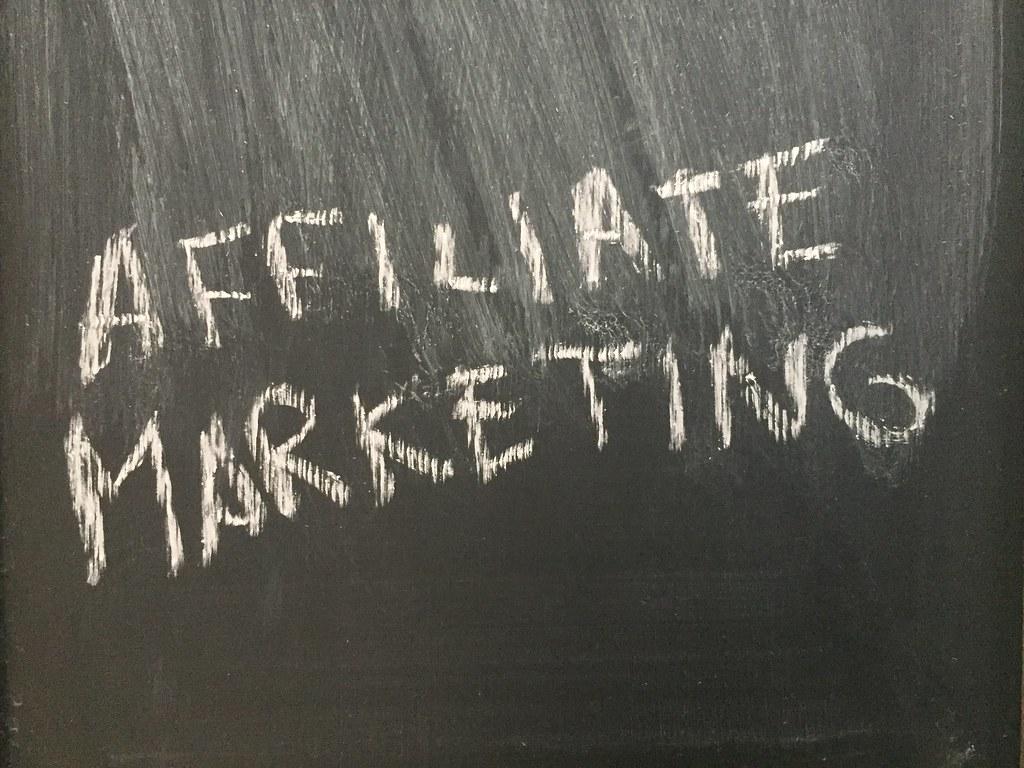 Affiliate Marketing.