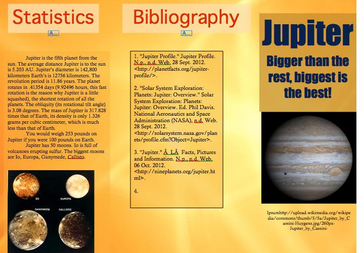Jupiter Planet Travel Brochure (page 4) - Pics about space