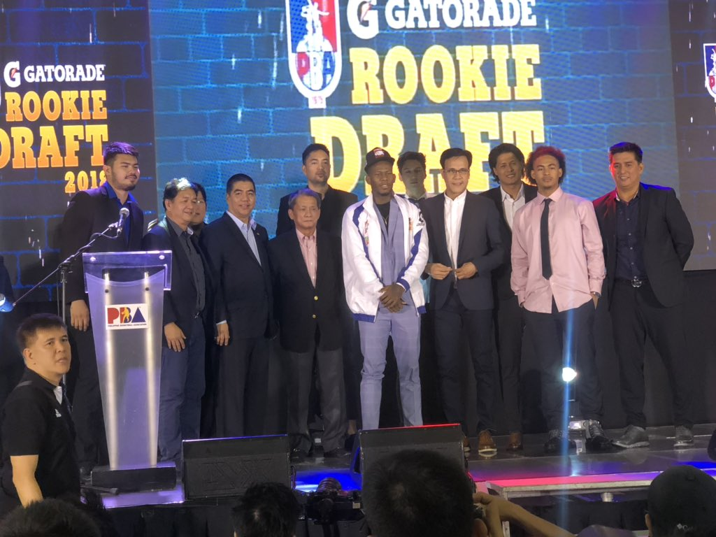 2018 PBA Rookie Draft Results