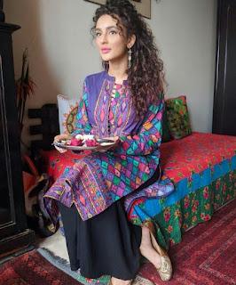 """फिल्म """"मारीच"""" से जल्द ही Bollywood में धमाकेदार एंट्री करने जा रही Actress Seerat Kapoor ने पर्पल ट्रेडिशनल आउटफिट में साझा कीं अपनी बेहद खूबसूरत तस्वीरें, Pics"""