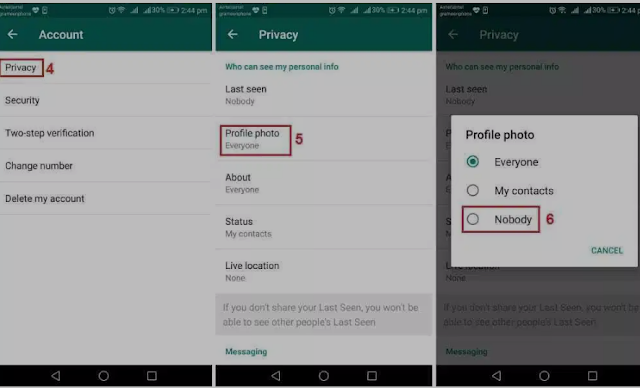 Cara Menyembunyikan Gambar Profil WhatsApp dari Semua atau Kontak Tertentu 3