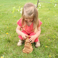 Lotes Toys Wooden Stacking Square (PY01)