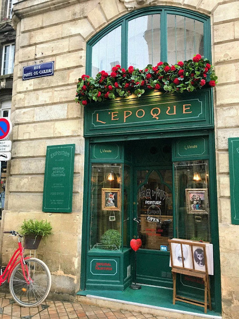 Кафе в Бордо (Cafe in Bordeaux)