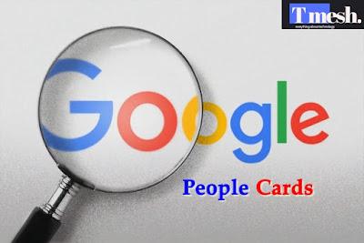 Google People Cards image