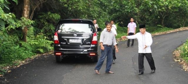 Ruas Jalan Palak Tabu, Harapan Baru Masyarakat Sungai Geringging
