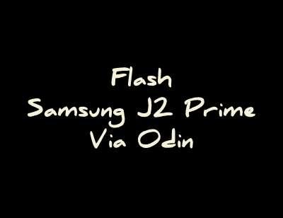 Flash J2 Prime via Odin
