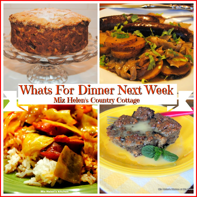 Whats For Dinner Next Week,3-17-19 at Miz Helen's Country Cottage
