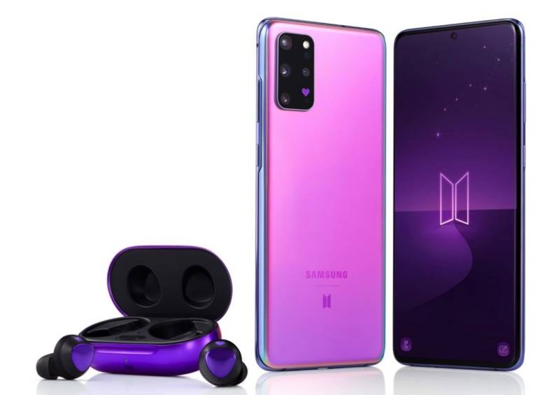 Samsung Galaxy S20 + and Samsung Galaxy Buds + launched in new BTS edition