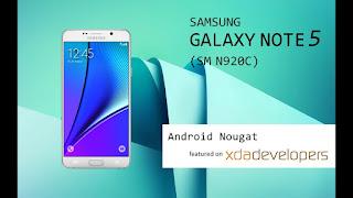 رووت ركفري نهائي لجهاز Note 5 N920c U3 7 0 اندرويد الجمالي