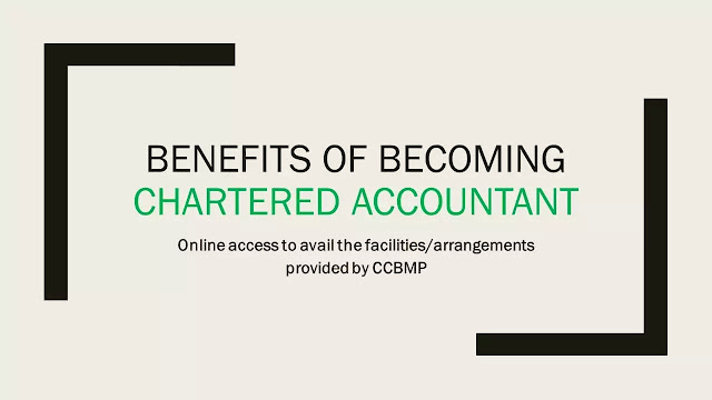 Benefits of becoming Chartered Accountant