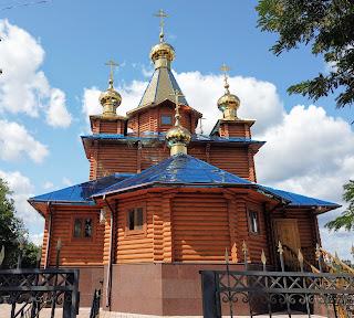 Изюм. Монастырь в честь Песчанской Божией Матери