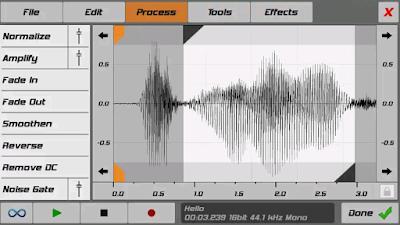 تطبيق الهندسه الصوتية لصنع اصوات سامبلير بصيغة واف wav بسهولة