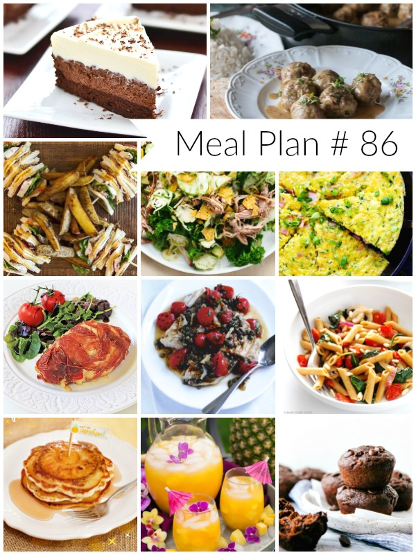 Delicious recipes round up for your weekly plan - Ioanna's Notebook