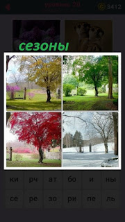 655 слов показаны различные сезоны и климат разнообразный 20 уровень