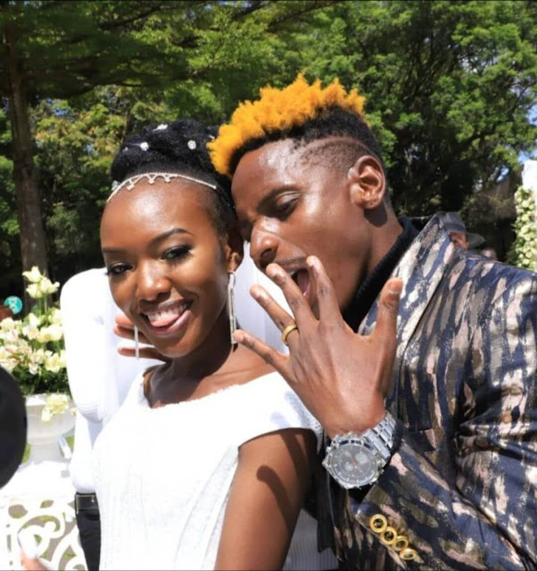 Eric Omondi Marriage wedding clear photos