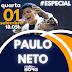 ESPECIAL DESSA QUARTA TRAZ PAULO NETO PARA ABRIR COM CHAVE DE OURO NA RADIOBORG