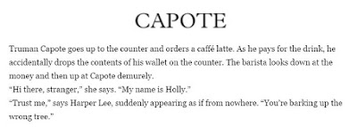 capote  literary starbucks quote