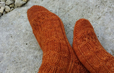 New pattern release: Priory Socks