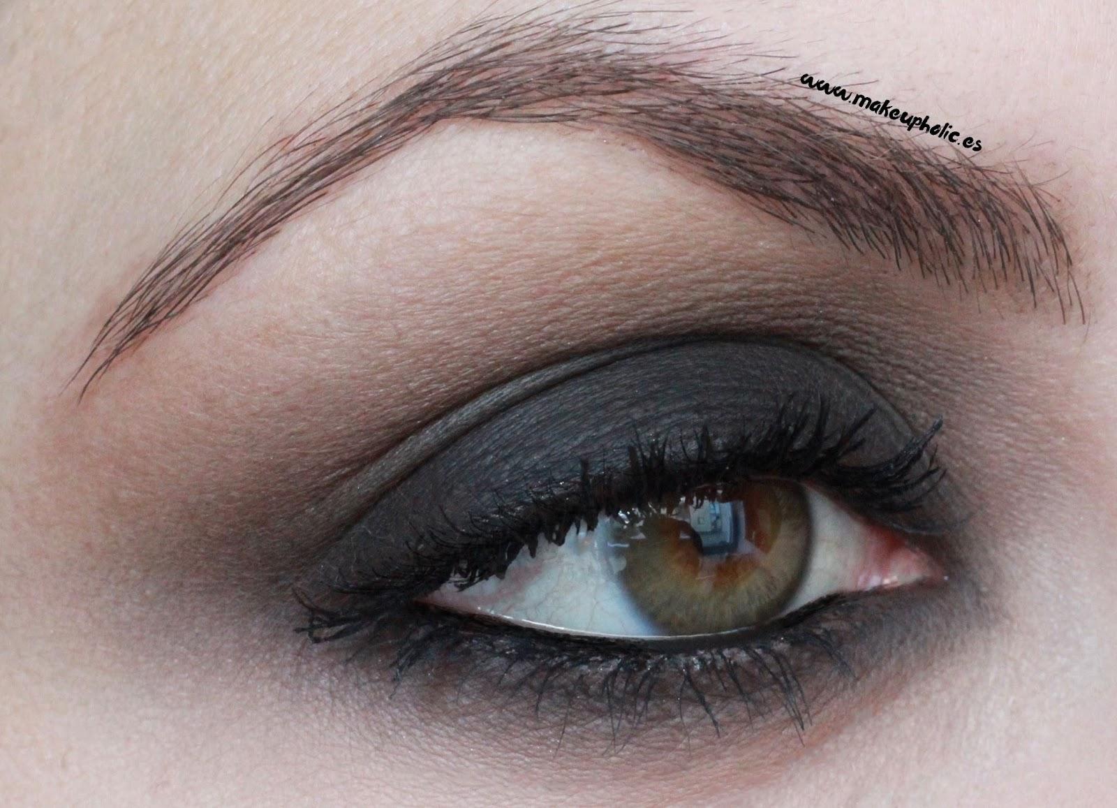 Makeupholices Maquillaje De Ojos Paso A Paso Ojos Ahumados En - Maquillaje-negro