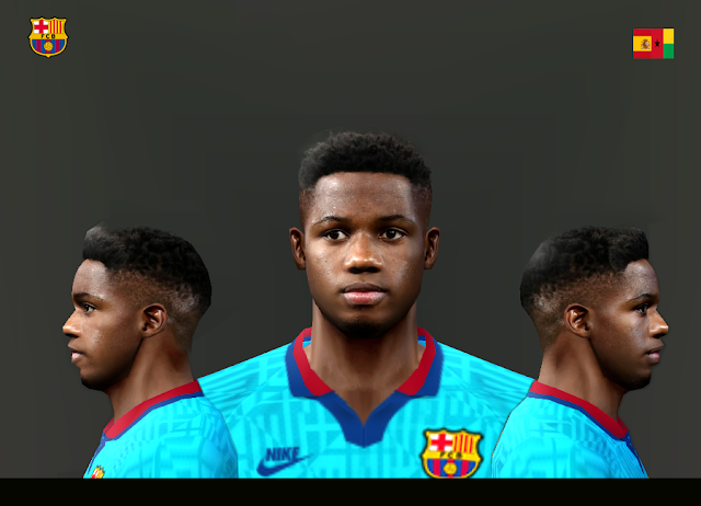 Face & Hair | Ansu Fati - PES2006 - Season 2019/20