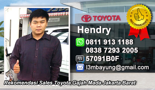 Toyota Gajah Mada Jakarta Barat