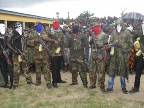 niger delta blow up oil delivery line delta