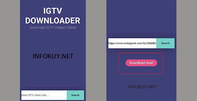 Cara Download Video IGTV Tanpa Aplikasi di HP #1